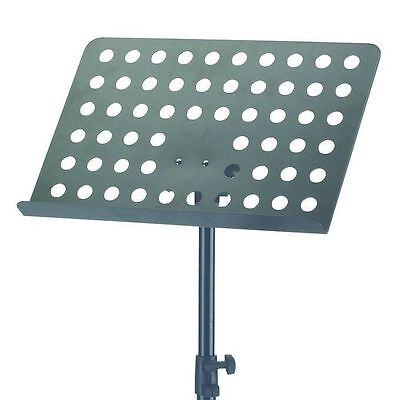 K&M 11940 Orchestra Music Stand - Black