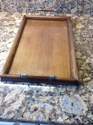 Vintage Small Wooden Tray