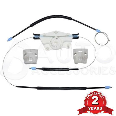 Vw Golf Mk4 Electric Window Regulator Repair Kit Front Right Driver Side