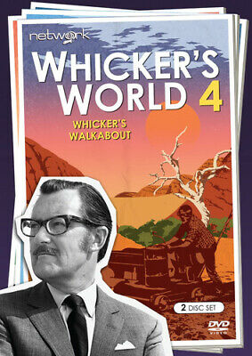 Whicker's World 4 - Whicker's Walkabout DVD (2017) Alan Whicker ***NEW***