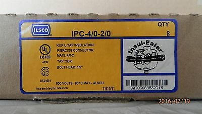 ILSCO INSULATION PIERCING CONNECTOR IPC 4/0-2/0    $3.50 frt   1 or all
