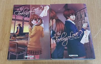 lot intégrale 2 tomes is this feeling love? de AIKAWA Saki