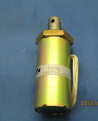Lucas Ledex Tubular Solenoid 189716-028 new