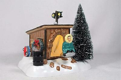 Dept 56 Snow Village 'Griswold Sled Shack' #4042408 National Lampoon's...NIB!