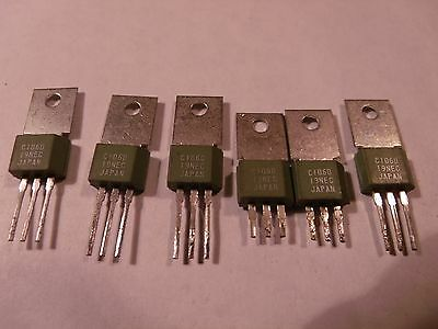 2 new + 4 used tested C106D 4A 400V SCR Thyristor TO-202