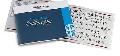 William Mitchell GUIDE TO CALLIGRAPHY Instruction Book Round Hand Italic Gothic