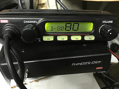 GME TX3600 80  CB CHANNELS REMOTE HEAD UHF COMMERCIAL RADIO 4x4 truck