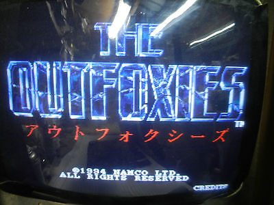 The Outfoxies Namco  Jamma game board arcade 1994