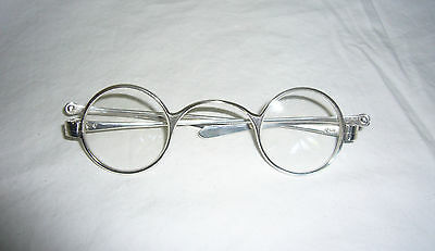 Antique Sterling Silver English Hallmarked Eyeglasses