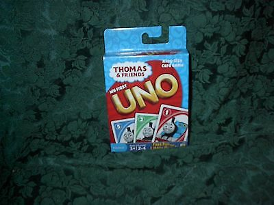 Thomas & Friends My First Uno King Size Card Game-New