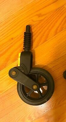 """Bugaboo Cameleon Frog Gecko Baby Stroller front wheel  6"""" small parts"""