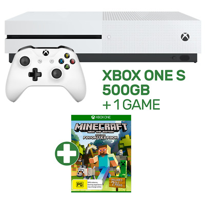 Xbox One S 500GB Console + 1 Game - Xbox One - BRAND NEW
