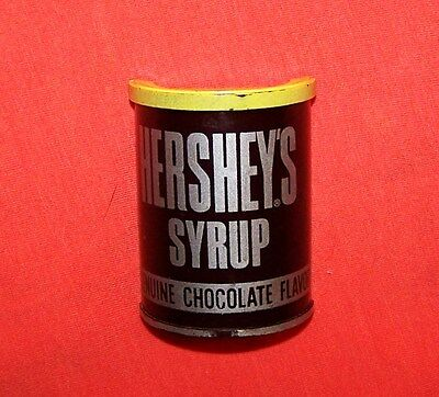 Vintage Hershey's Syrup Refrigerator Magnet - 2 inch Chocolate Can