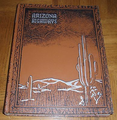 Vintage 1988 Arizona Highways Bound-12 Issues-January Thru December-Desert Cover