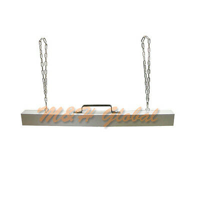 "48"" Hanging Magnetic Sweeper Picker Pick Up Tool Hanger Magnet Bar Roadmag"
