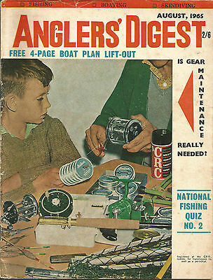 ANGLER'S DIGEST, August 1965