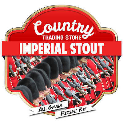 Imperial Stout All Grain Recipe Kit Suits Grainfather Home Brew Beer
