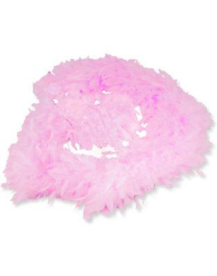 Pink Feather Boa 6 ft Girls Dress up Costume Pink Boa - NEW