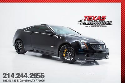 2013 Cadillac CTS 6-Speed 730+ HP! 2013 Cadillac CTS-V Coupe Supercharged Black 6-Speed 730+ HP! WE FINANCE!