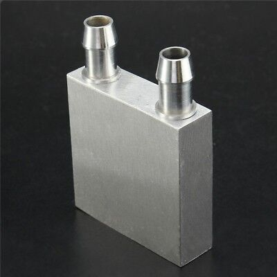 Aluminum Water Liquid Cooler Block Heatsink 40x40x12mm For Computer CPU Laser PC