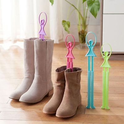 Women Boots Stand Holder Shaper Shoes Tree Stretcher Support Shoe Organizer