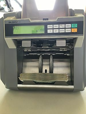 Glory Gfr-110 Banknote Currency Currency Counter Discriminator