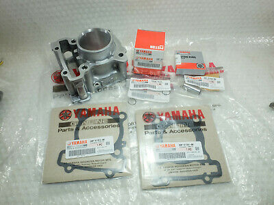 New Genuine Yamaha NMAX 125 - MBK Ocito Big Bore 155cc Cylinder Kit Piston Ring