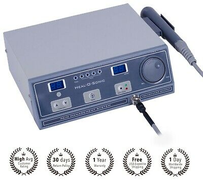New latest Original Ultrasound Ultrasonic therapy machine for Pain relief 1 mhz