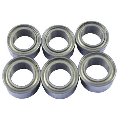10pcs Miniature Sealed Metal Shielded Metric Radial Ball Bearing Model: MR8 U0M5