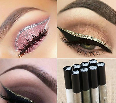 hot Sparkling Glitter Liquid Eyeliner Eye Party Makeup Colorful Eye Liner