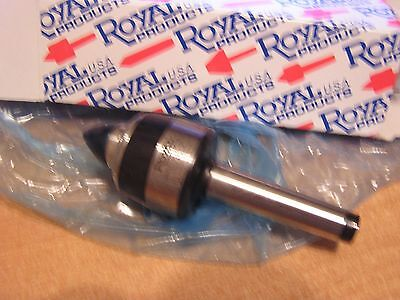 Royal Products 10102 Spindle Type Live Center - TAPER: 2 MT