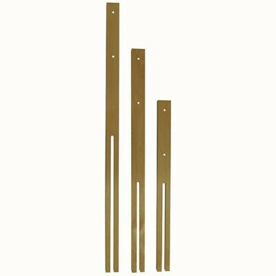"Quality Hardwood Headboard Struts Legs 24"" Multi Fix Fitting. Free Postage"