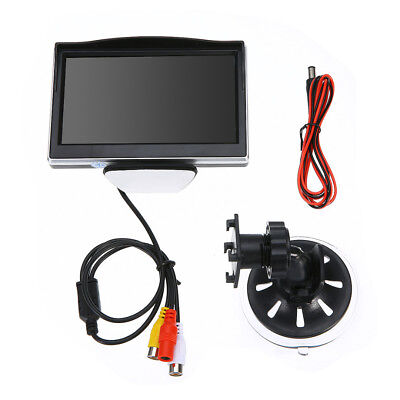 "5"" Digital TFT LCD Screen Monitor System for Car Rearview Reverse Backup Camera"