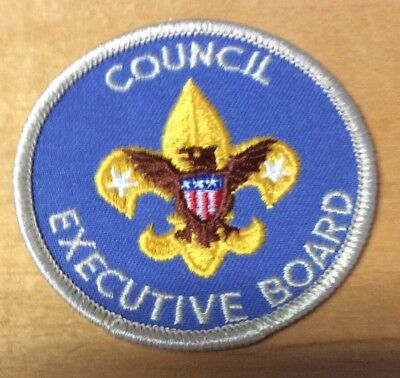 Boy Scouts Council Executive Board Patch  New