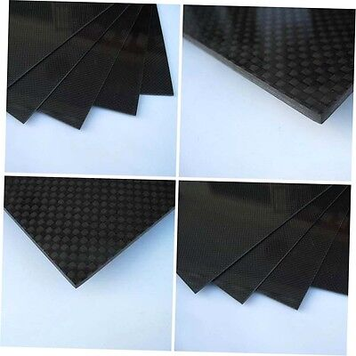 200×300×0.5mm With 100% Real Carbon Fiber plate/panel/sheet 3K plain weave FG