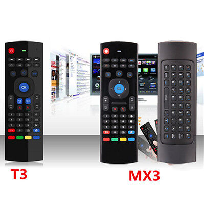 MXIII &T3 2.4G Wireless Remote Control Keyboard Air Mouse for    Mini YL