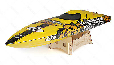 FP 2.4Ghz TFL Hobby Pursuit Deep V Fibreglass Brushless Racing Boat