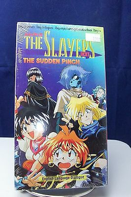 New Sealed The Slayers The Sudden Pinch Anime Vhs Tape