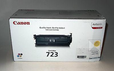 Canon Toner Cartridge 723 Yellow / Gelb für LBP 7750C 2641B002