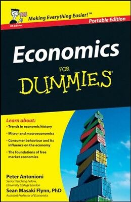 Economics For Dummies Portable Edition Book 2011 Paperback By Peter Antonioni