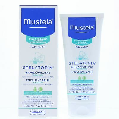 Mustela Stelatopia Emollient Balm 200ml Rich Texture - Atopic-Prone Skin