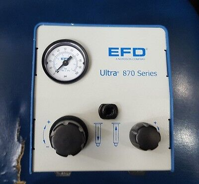 EFD ULTRA 870 SERIES Fluid Dispenser W/ FOOT PEDAL PNEUMADYNE S04-1118 S04-1118