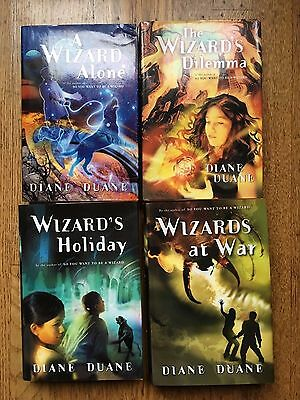 Young Wizards Series By Diane Duane, 4 books, Hardcover