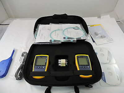 Fluke MFTK1200 Multifiber Pro Basic Fiber Test Kit - 90 Day Warranty