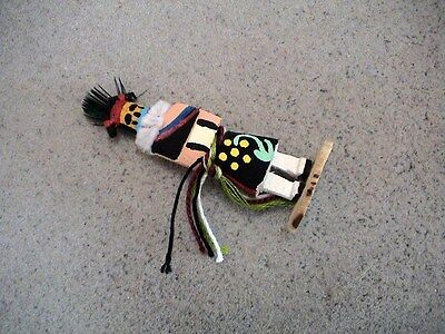Auth.Native American Indian Mini Hemis Girl Kachina by Colleen Parker