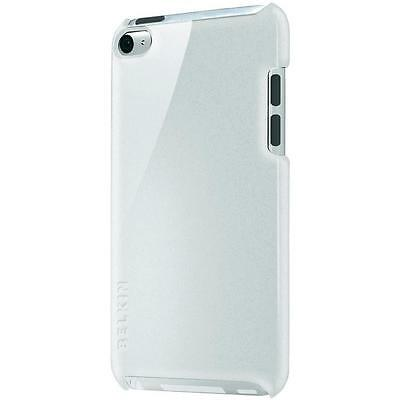 Belkin iPod Touch 4th Generation Slim Shield Micra Metallic Case Cover White