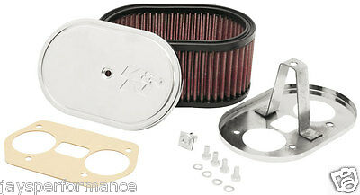 K&N Custom Air Filter Kit For Weber 36/40/44 Idf/Ida Carburetors