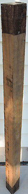 Bocote Wood 2x2x36 Woodworking Lumber Pool Cues Walking Canes Turkey Call Flutes