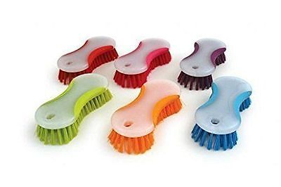 2 X Scrubbing Brush Hand Stiff Deck Floor Scrub Hard Brush Washing Up Brush