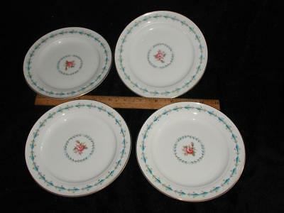 4 HALL CHINA HARMONY HOUSE MOUNT VERNON Bread Butter Salad Plates    e